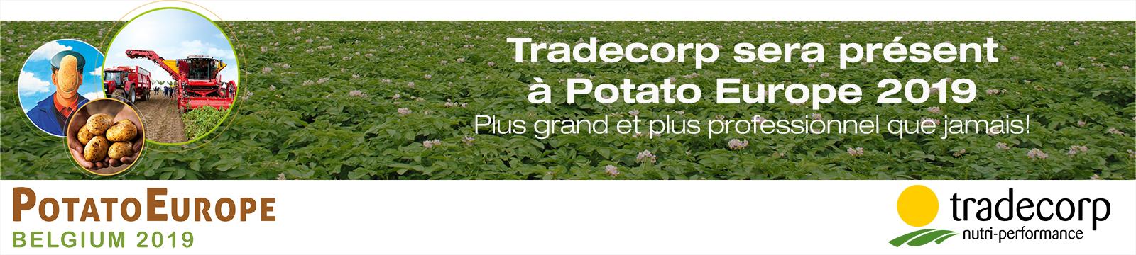 Ne manquez pas notre stand à Potato Europe 2019 !